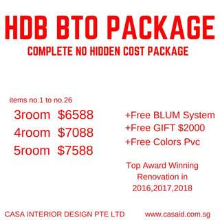 BTO Renovation Package