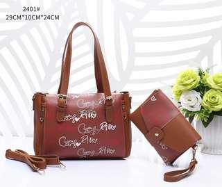 Handbag set 2in1