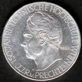 25 Schilling Technische Hochschule Wien