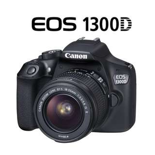 🛒NEW Canon EOS 1300D DSLR Camera + 18-55mm Lens
