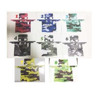 IU STICKER (Camo Print)