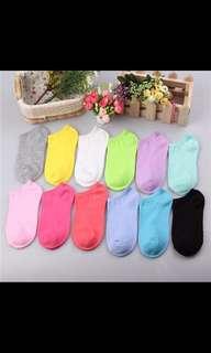 PO: women ankle socks