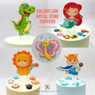 Colorflow Royal Icing Toppers - Online Class