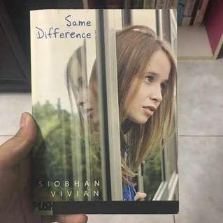 Same Difference [SIOBHAN VIVIAN]