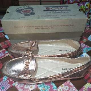 Shiny Gold Shoes