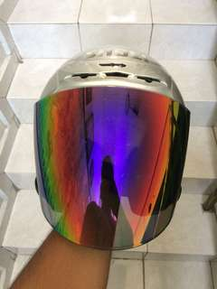 Helmet Shoei Jforce 2 Silver