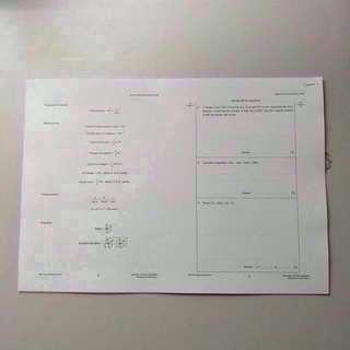 School Practice Papers