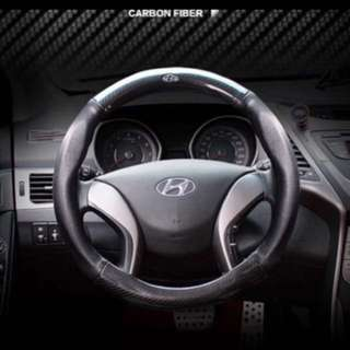 Steering wheel cover for Hyundai