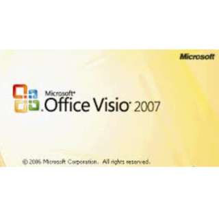 Msvisio for designing 2007 with media