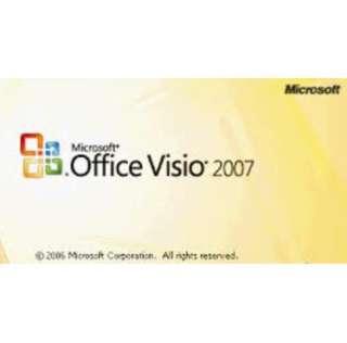 Msvisio for designing 2007 with media