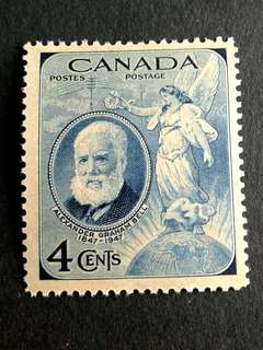 1947 Canada 4c stamps