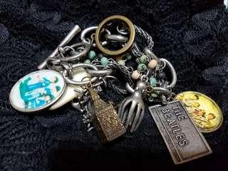 Vintage Beatles Chunky and Funky Bracelet