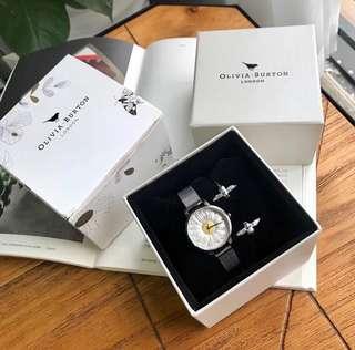 Olivia Burton Lady watch set