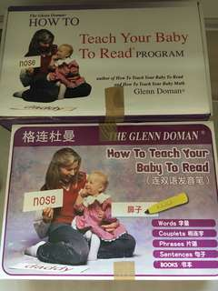 Glenn Doman English & Mandarin flash cards