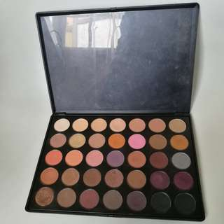 Authentic Morphe 35W Eyeshadow Palette