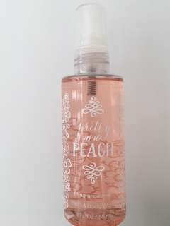 Bath and bodyworks mist