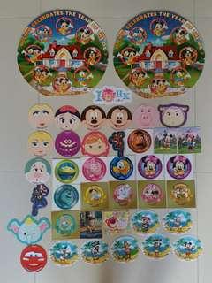 迪士尼Disneyland貼紙