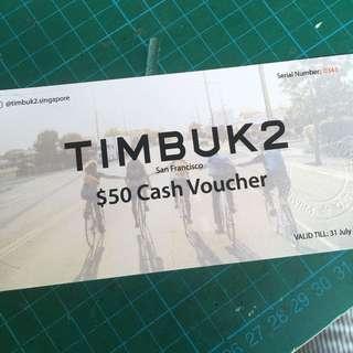 $50 TIMBUK2 Voucher
