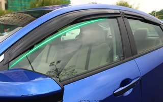 Civic ten gen window visor