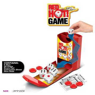 Red Hot Yott Dice Slide Game