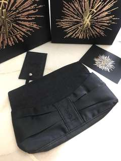 YSL perfums pouch with morror