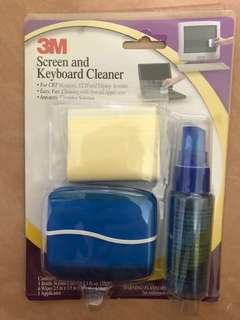 3M screen and keyboard cleaner