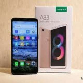 new oppo A83 cash credit