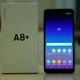 Samsung A8+ cash dan credit