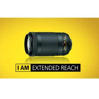 🛒(SPECIAL OFFER) NEW Nikon AF-P 70-300mm F4.5-6.3G ED VR Lens