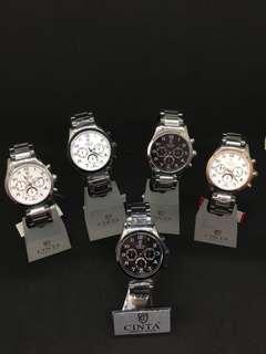 全新 香港品牌防水鋼錶