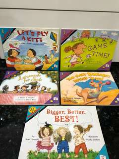 Maths Education English Story Books Children by Stuart Murphy