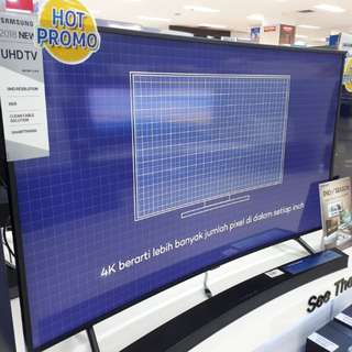 Led Tv Samsung 55 inch Curved Promo (Kredit MURAH)