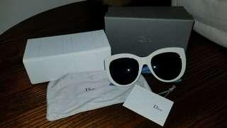 Dior sunglasses white 迪奧 墨鏡 太陽眼鏡