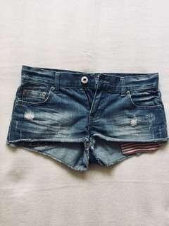 Miss Selfridge USA Denim Shorts