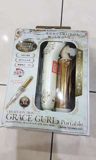 Grace Curling Iron Portable 32mm