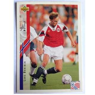 Lars Bohinen (Norway) Soccer Football Card #121 - 1994 Upper Deck World Cup USA '94
