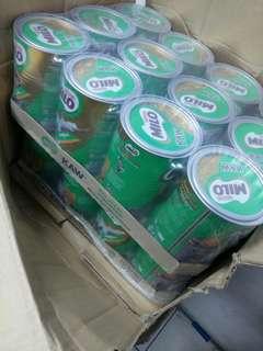 MILO (carton -12 tin - 500g)