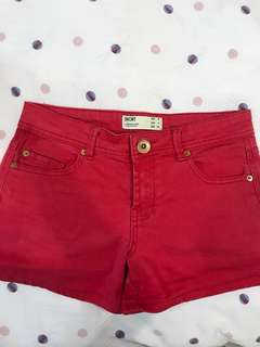 Cotton on shorts red size 36