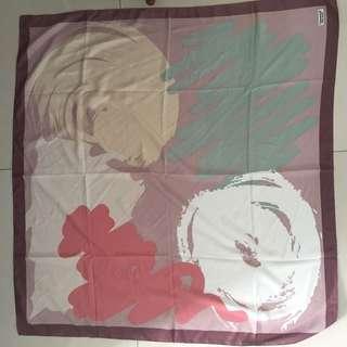 Hijal jilbab segi empat printed motif murah