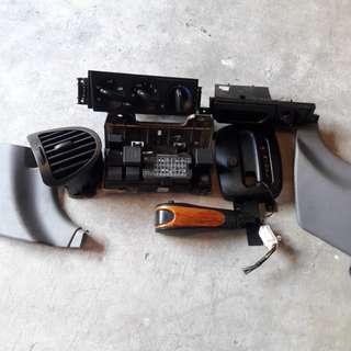 Waja console parts