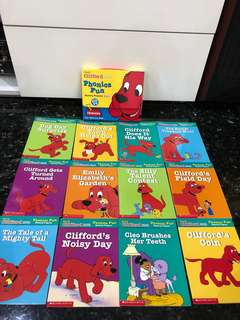 Grolier Scholastic Education Clifford English Phonics Story Book (Pack 6)