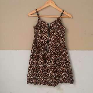 Dress leopart DIVIDED By H&M