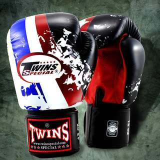 Twins Special Muay Thai Gloves 'Flag of Thailand' – 12 oz