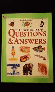 Early Learner's ~ The World of Questions & Answers