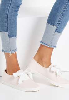 Indy Bow Plimsoll Sneakers