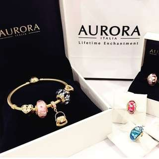 set bangle aurora italia