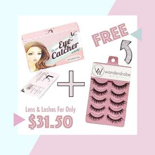 Lofa Lens + Free Fake Eyelashes