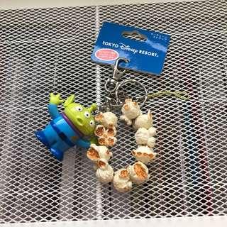 迪士尼 三眼怪爆米花鑰匙圈 代購