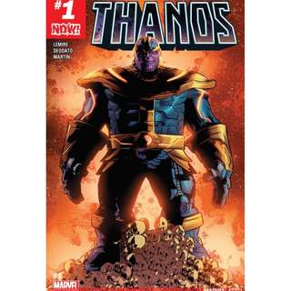 Thanos #1 - #12 (Marvel Comics, Avengers, Infinity Gauntlet, Thane, X-Men, Guardian of the Galaxy)