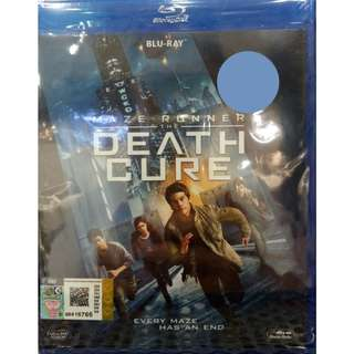 Maze Runner The Death Cure Blu-ray